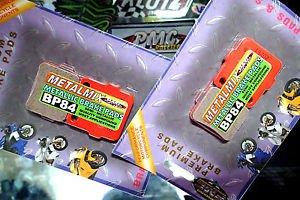 BRAKE PADS FULL SET METALMIX YAMAHA RAPTOR350 YFM660 HONDA TRX400 300 250 200 A+