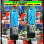 MOTORCYCLE ATV HEADLIGHT BULBS XENON BLUE H6M 35W Grizzly Kodiak KFX SuperBright