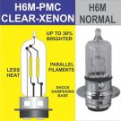H6M H6 h6 35/35W ONE HEADLIGHT BULB CLEAR WHITE Honda TRX250 400 450 500 650 680