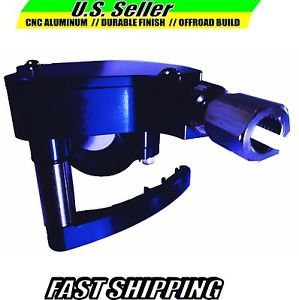 ATV THUMB THROTTLE CNC ALUMINUM BLUE SUZUKI  LT500R LT250 LT80
