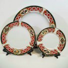 Gibson Holiday Fiddle 11 Pc Set Dinnerware
