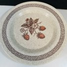 Homer Laughlin Strawberries Stoneware Dinnerware Set of 3