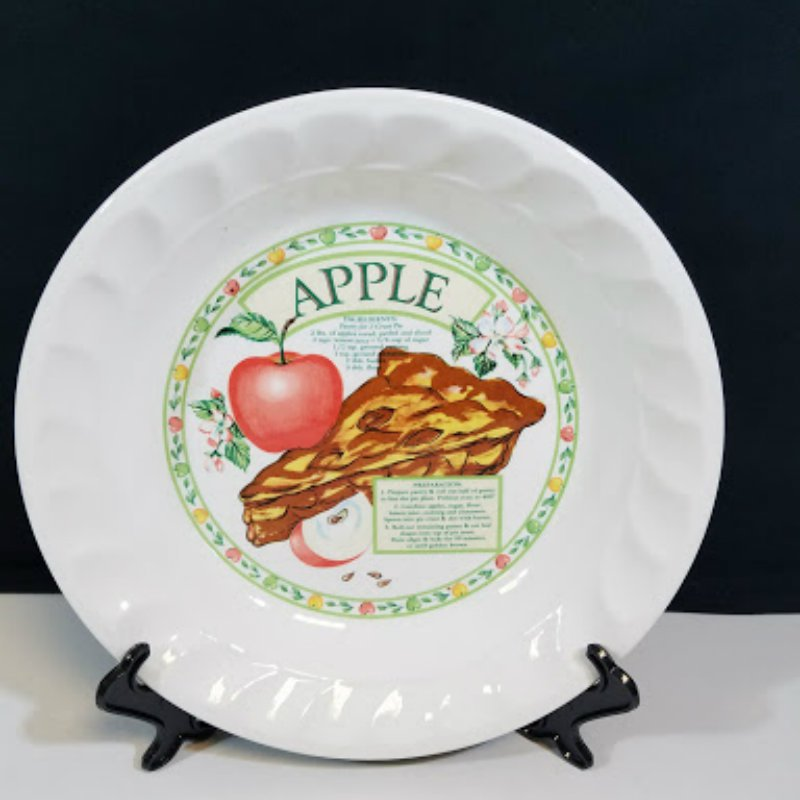 Himark Korea Apple Pie Dish Plate