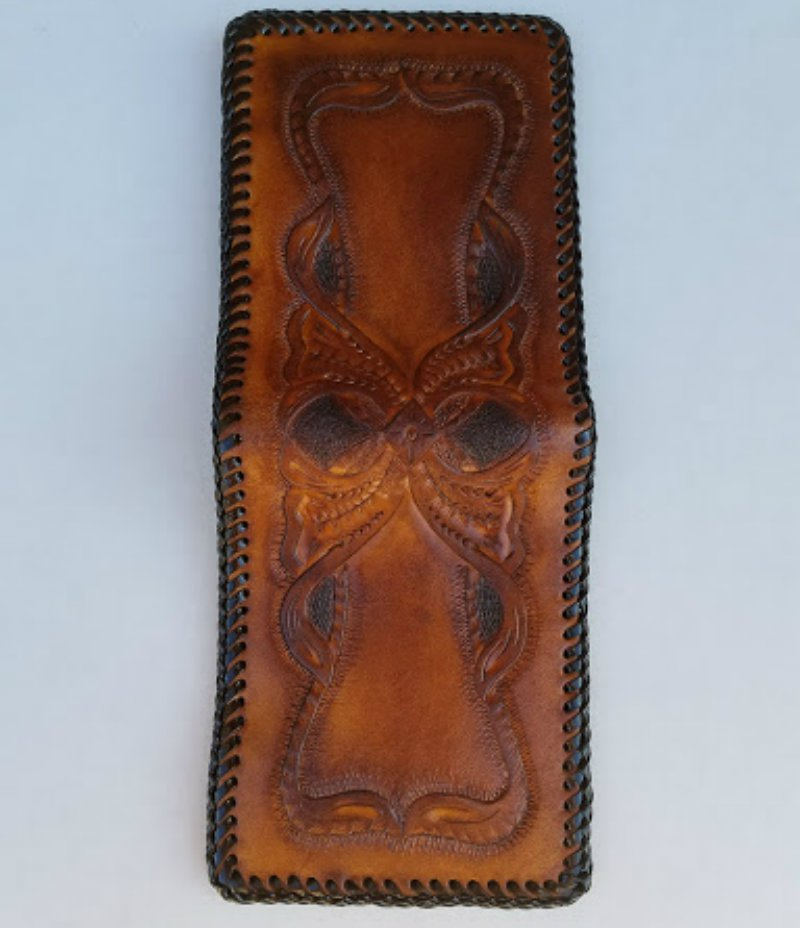 Handcrafted Genuine Leather Men's Bi-Fold Wallet