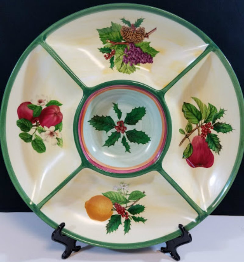 Villeroy & Boch 1748 French Noel Dip Bowl House and Garden Collection