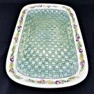 """Pfaltzgraff Jamberry Basketweave Platter 16"""" x 10.5"""""""