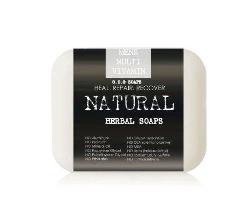 Men�s Whole Food Multivitamin Soap Bars (Value 2 Pack)