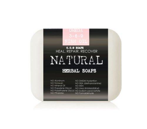 Omega Fish Oil Soap Bars (Value 2 Pack)