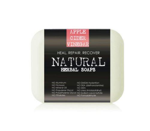 Organic Apple Cider Vinegar Problem Skin Soap Bars (Value 2 Pack)