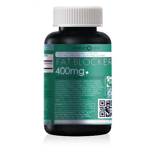 Fat Blocker Weight Loss Aid, All-Natural, NON-GMO
