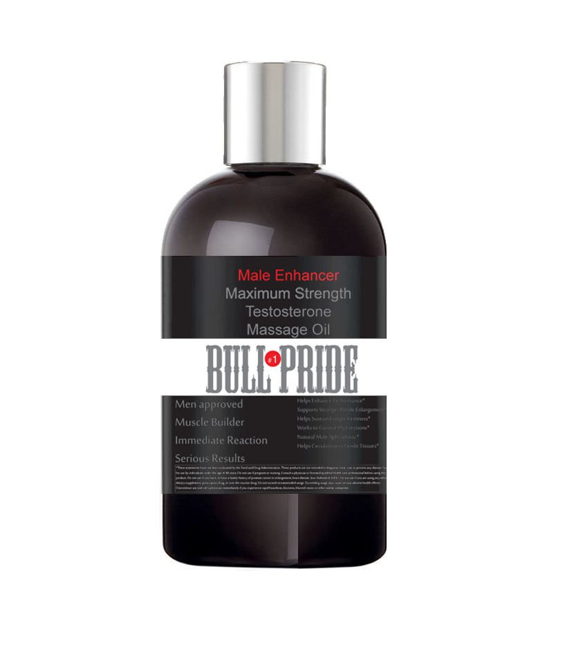 Bull Pride Testosterone Massage Oil