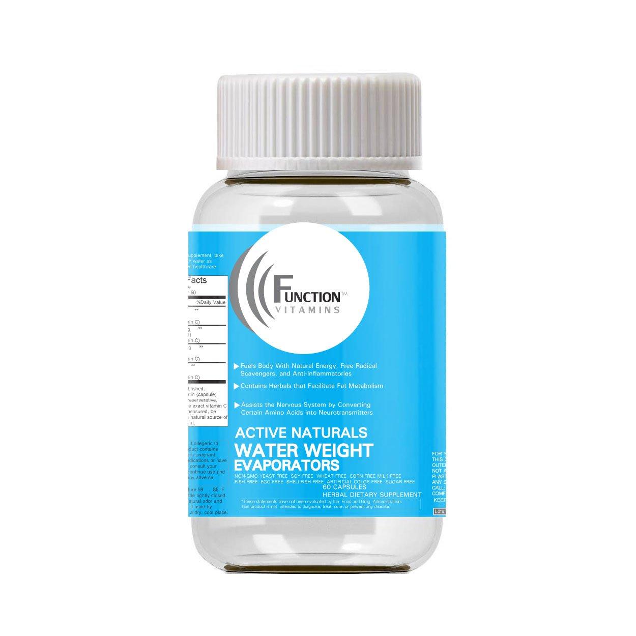 H20 Water Weight Evaporator Diet Capsules, ORGANIC