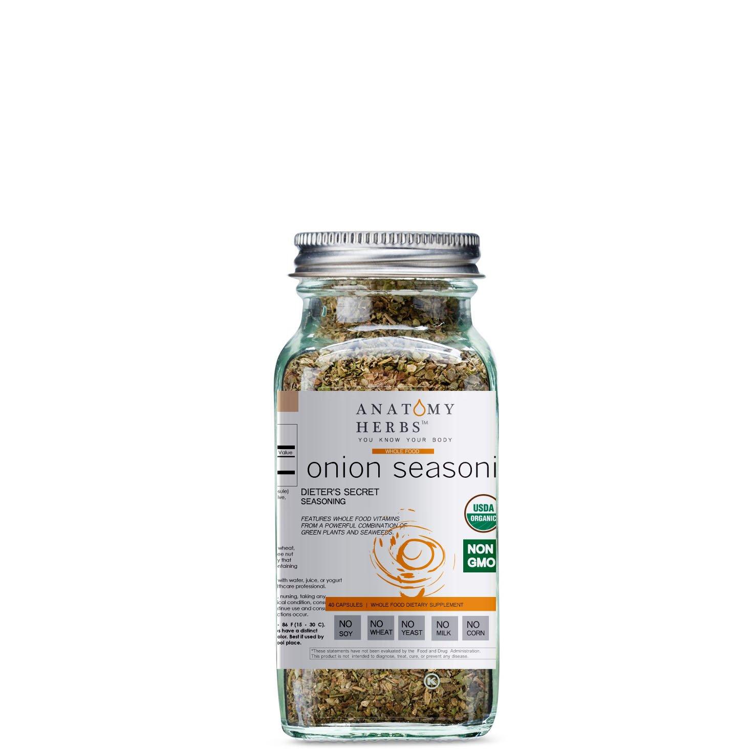 Onion Herbal Salt Dieter's Secret Seasoning (Fat Burner)