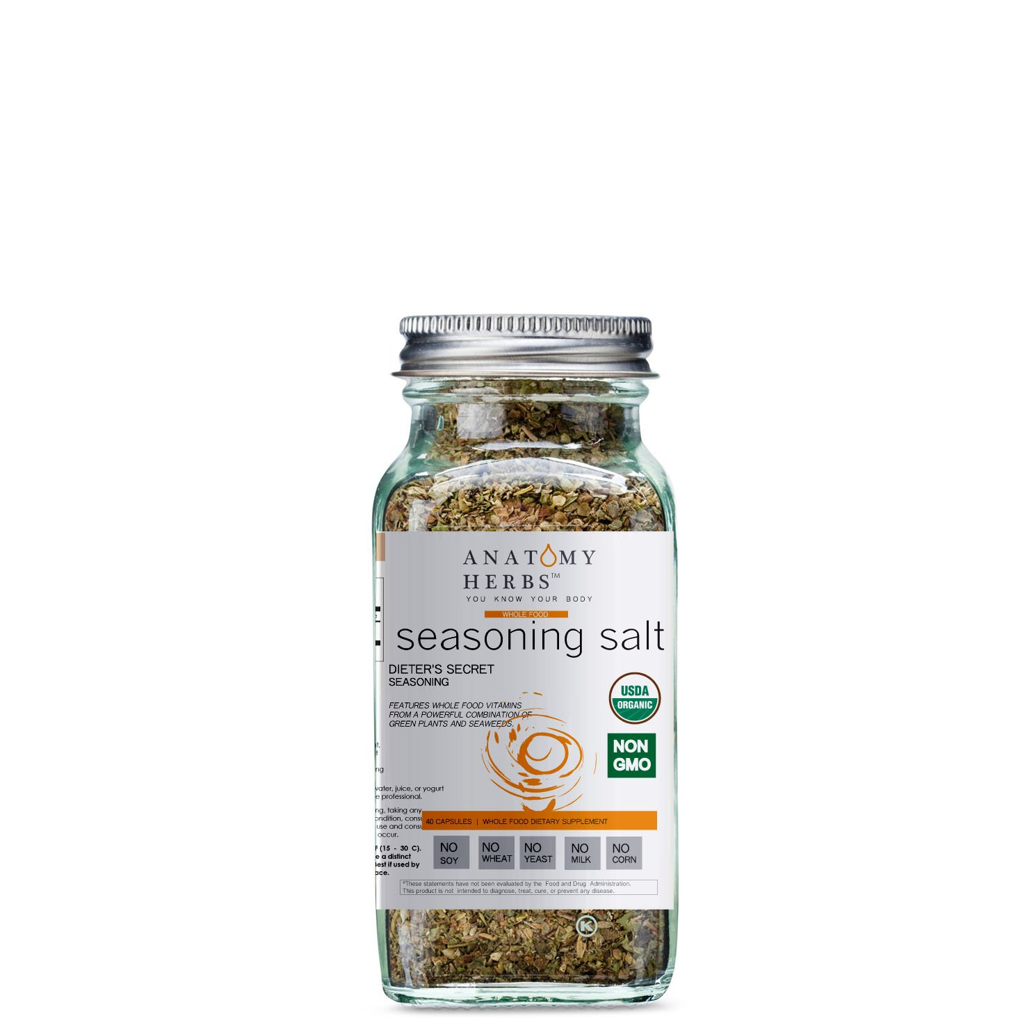 Herbal Seasoning Salt Dieter's Secret (Fat Burner)