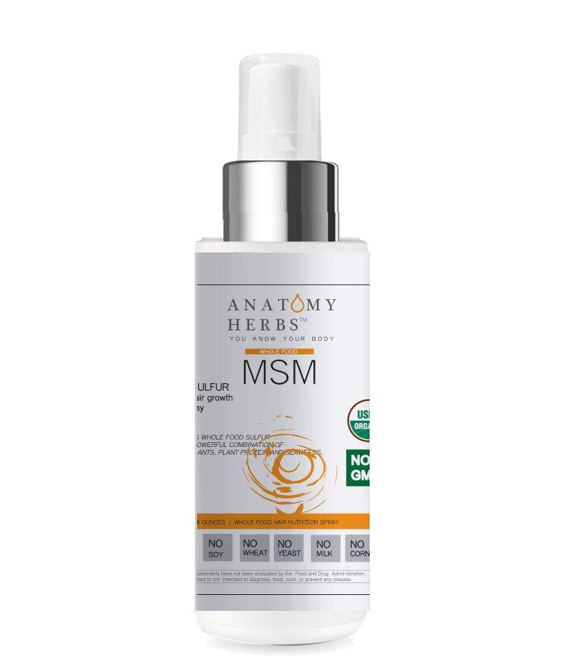Anatomy Herbs MSM Super Hair Growth Spray