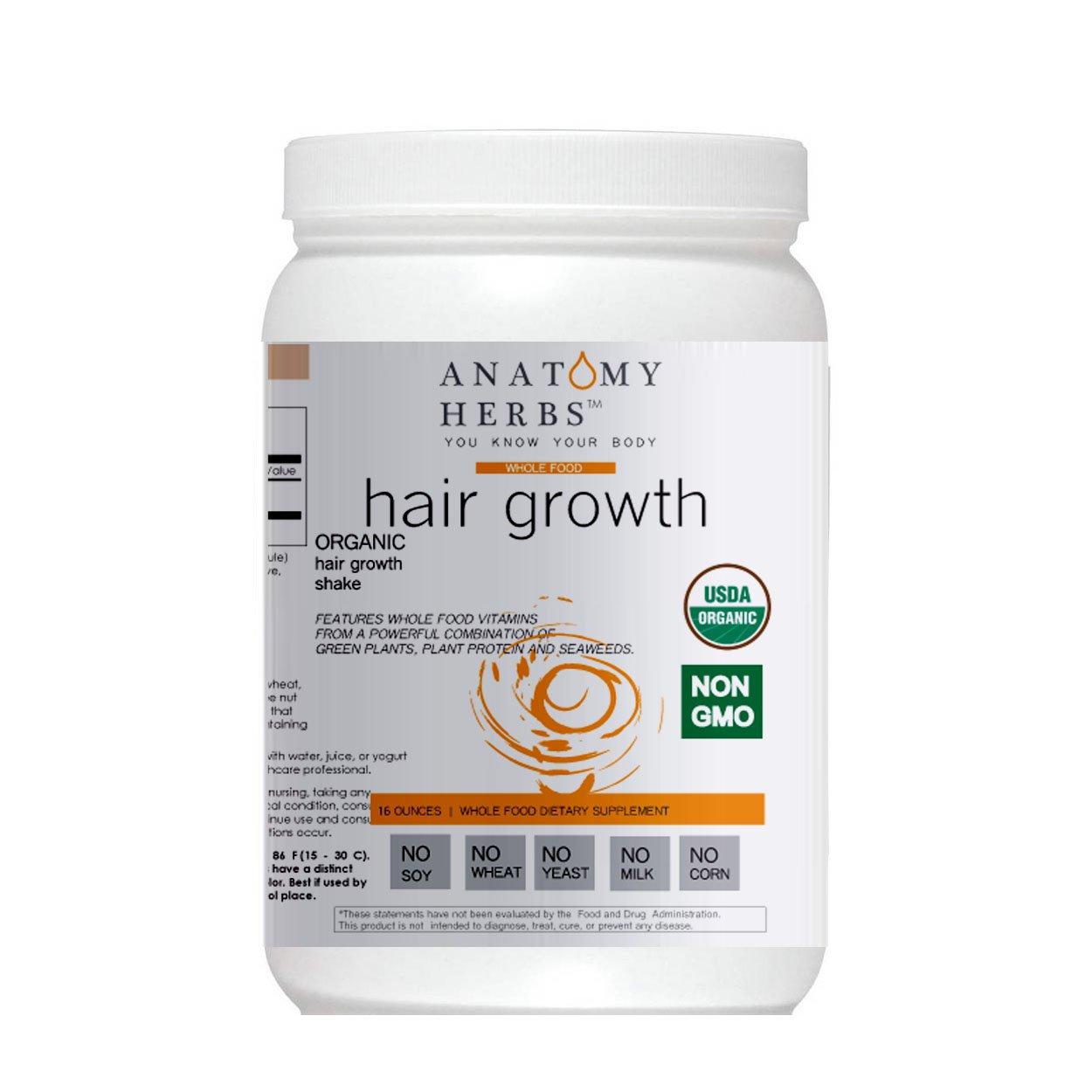 Anatomy Herbs Multi-Vitamin Hair Growth Shake