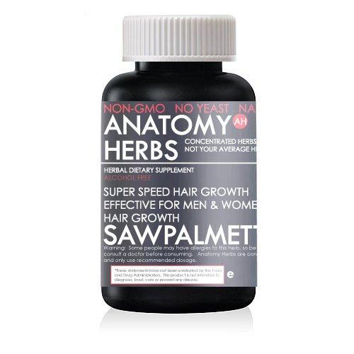 Saw Palmetto Herbal Hair Growth Capsules