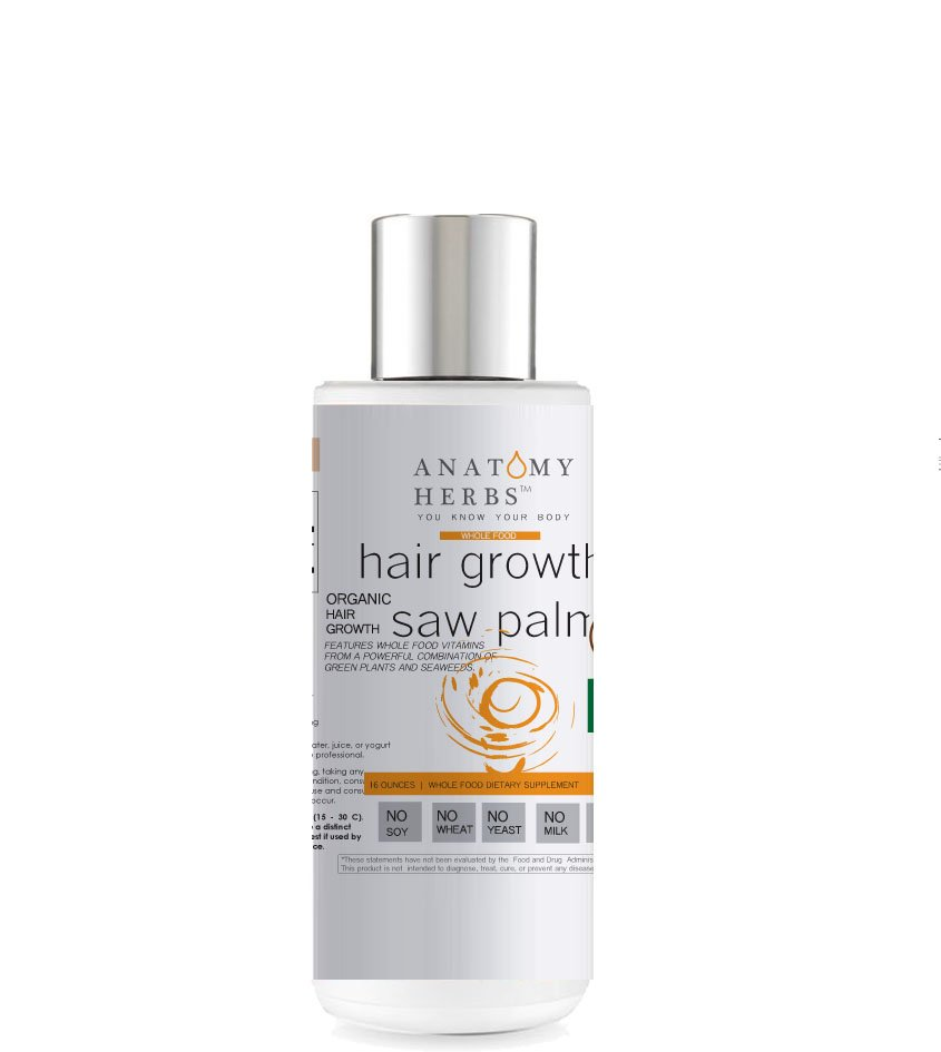 Saw Palmetto Herbal Hair Growth Shampoo