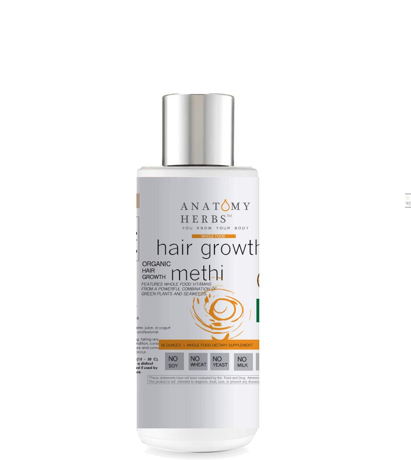 Methi Fenugreek Hair Growth & Thinning Shampoo