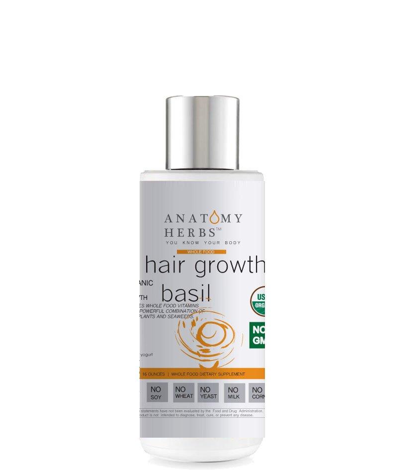 Basil Anti-breakage Hair Growth Shampoo