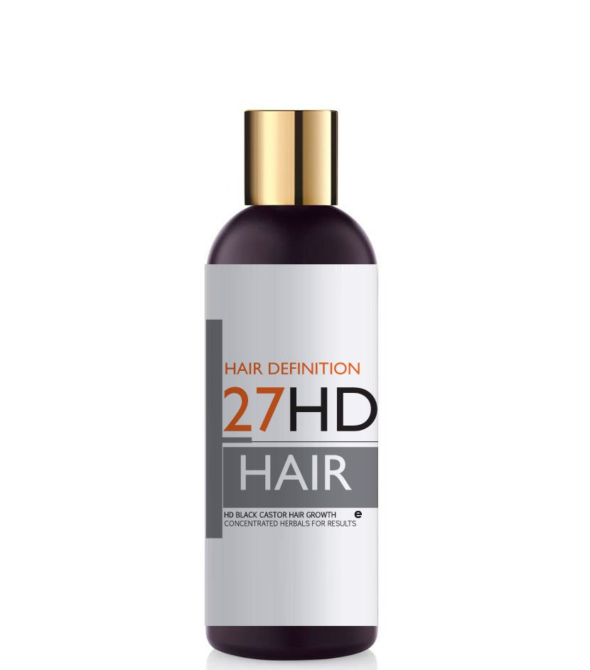 HD Black Castor Hair Growth Stimulating Shampoo