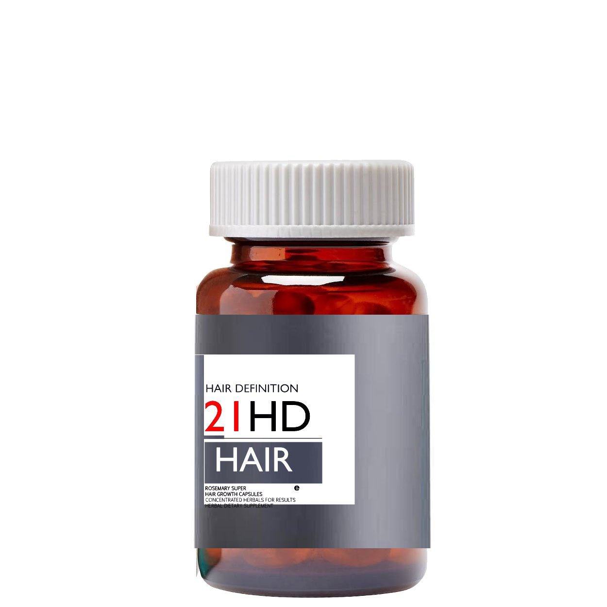 Rosemary Super Hair Growth Capsules, Extra Strength