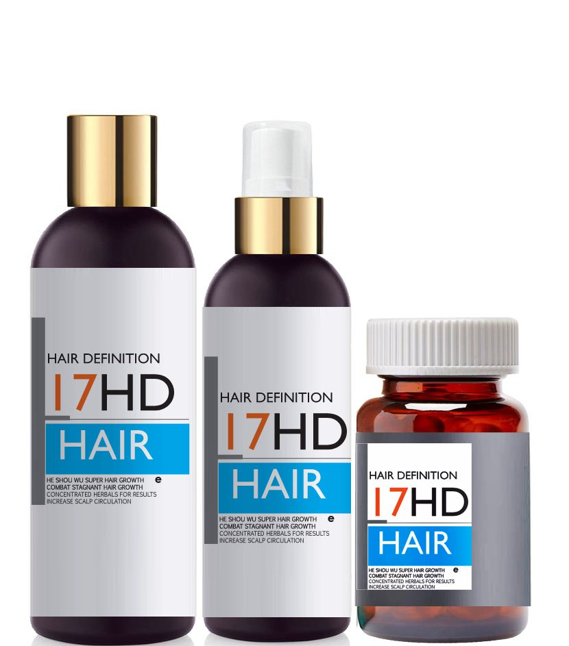 He Shou Wu Chinese Super Hair Growth Kit