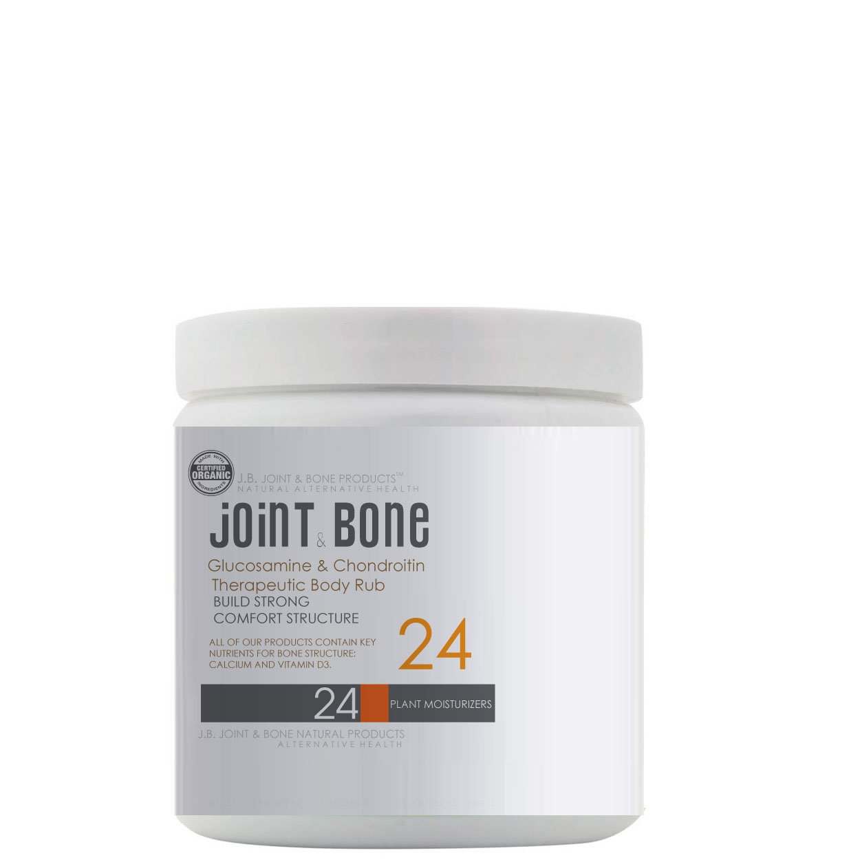 J.B. Glucosamine & Chondroitin  Therapeutic Body Rub
