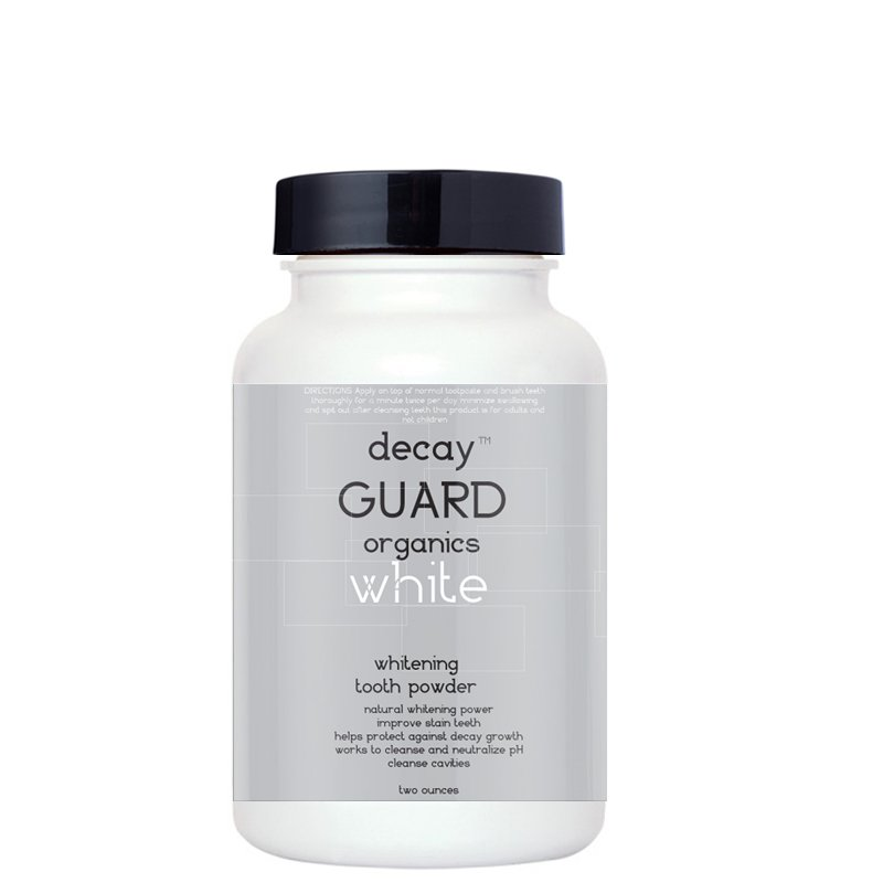 Decay GUARD� Whitening Natural Toothpaste Powder