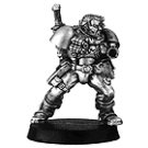 010109101 - Space Marine Scout with Heavy Bolter Body