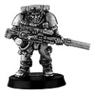 010109001 - Space Marine Scout with Sniper Rifle 1