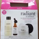 Philosophy Radiant and Refined Trial Kit