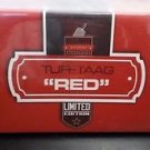 TUFFTAAG Limited Edition Luggage Tags Business Card Holder Travel ID - Red