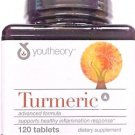 Youtheory Turmeric Advanced Formula Tablets, 120 Count