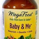 MegaFood - Baby & Me Prenatal / Postnatal Support for Mother / Baby, 120 Tablets