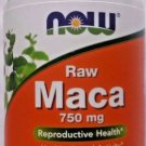 NOW Foods - Raw Maca 750mg 6:1, 90 Vcaps