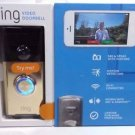 Ring Wi-Fi Enabled Video Doorbell - Polished Brass - iOS & Android Compatible