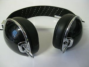 USED ROCNATION Skullcandy S6AVDM-156 Aviator Headphones in Black
