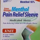 (24 Pack) Coralite - XStrength Menthol Pain Relief Sleeve - Large (Knee)