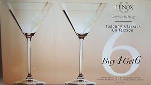 Lenox Tuscany Classics Martini Glasses (Set of 4)