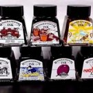 7 Pack of Winsor & Newton Drawing Ink Bottles - 14ml