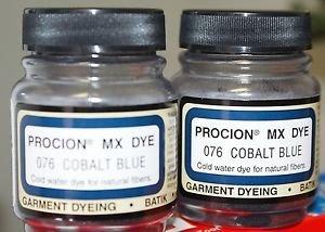 (2 Pack) Procion Dye Cobalt Blue Ink 2/3 oz. each
