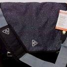 Embark Recycled Content Future Tech Messenger Bag Black