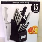 Cuisinart 15-Piece Stainless Steel Hollow Handle Block Set - C77SS-15PK