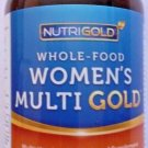 NutriGold Whole-Food + Food-Based Women's Multi Gold 90 Veg Caps