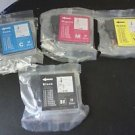 Lot of 8 Ink Cartridges Compatible with Brother LC
