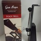 Gon Bops Pedal Cowbell Black with Mount - PPB085