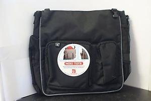 JL Childress MOXI Tote Stroller Diaper Bag, Black/Grey