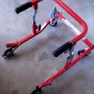 Drive Medical Wenzelite Anterior Safety Rollers - Red - Tyke