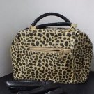 Jing Pin Purse Leopard Print with Black Sequins